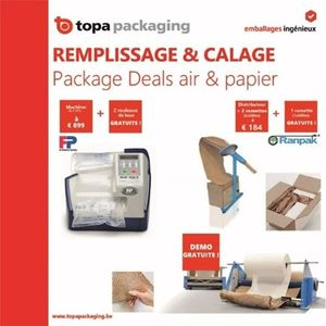"Remplissage & calage ""in the box"" : package deals air & papier"