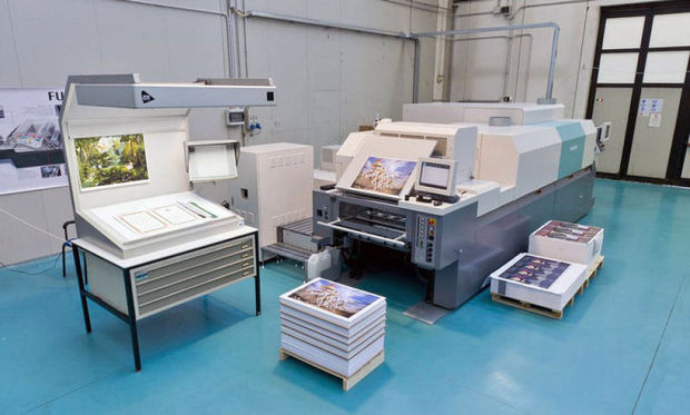 Fujifilm place trois JetPress en Europe