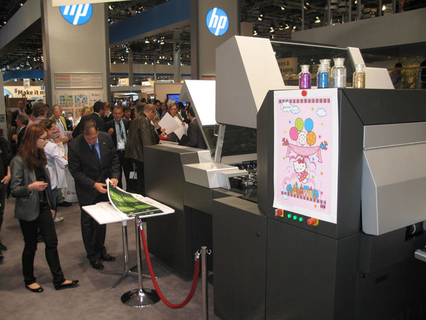HP est le plus grand exposant de la drupa 2016