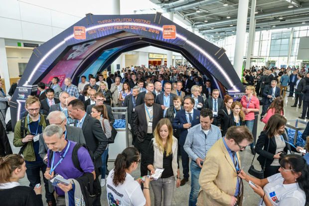 Fespa Global Expo 2015 attire un nombre record de visiteurs en provenance du Benelux