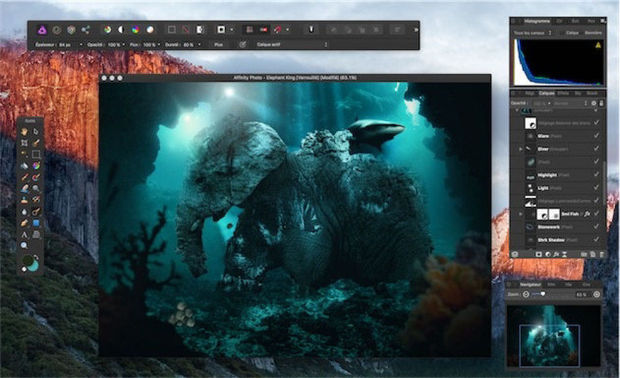 Affinity Photo, sérieux concurrent d'Adobe Photoshop ?