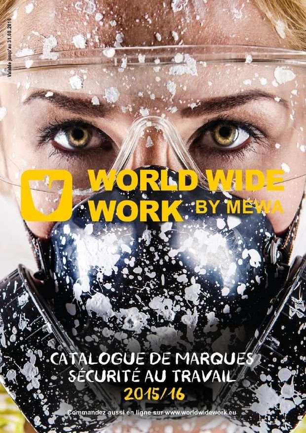 "Le catalogue ""World Wide Work by MEWA"" pour 2015/2016 est arrivé !"