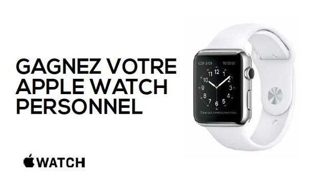 Dataline Solutions offre une Apple Watch !