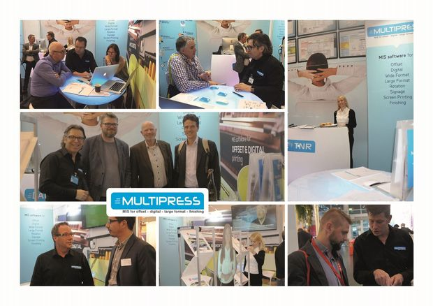 MultiPress bénéficie d'un intérêt international à DRUPA '16 !