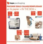 "Package deals calage/remplissage air & papier ""in the box"""